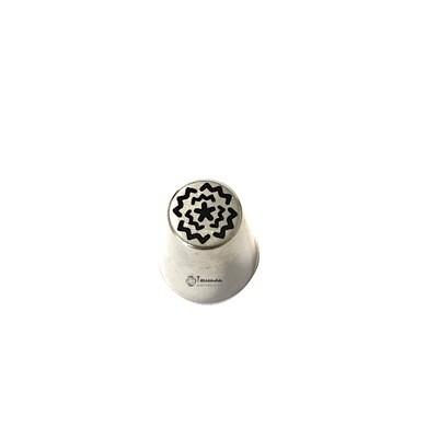мини Насадка Мак №144 | M размер (mini Russian Nozzle Pastry Tube #144 - Poppy | M size | by Tulip Workshop)