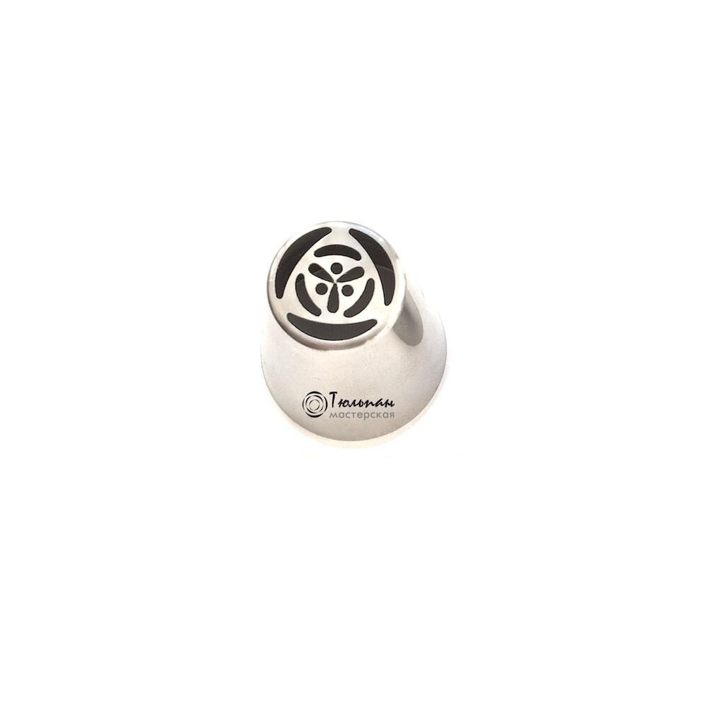 мини Насадка Цветок №126 Кластер | М размер (mini Russian Flower Nozzle #126 Cluster | М size | by Tulip Workshop)