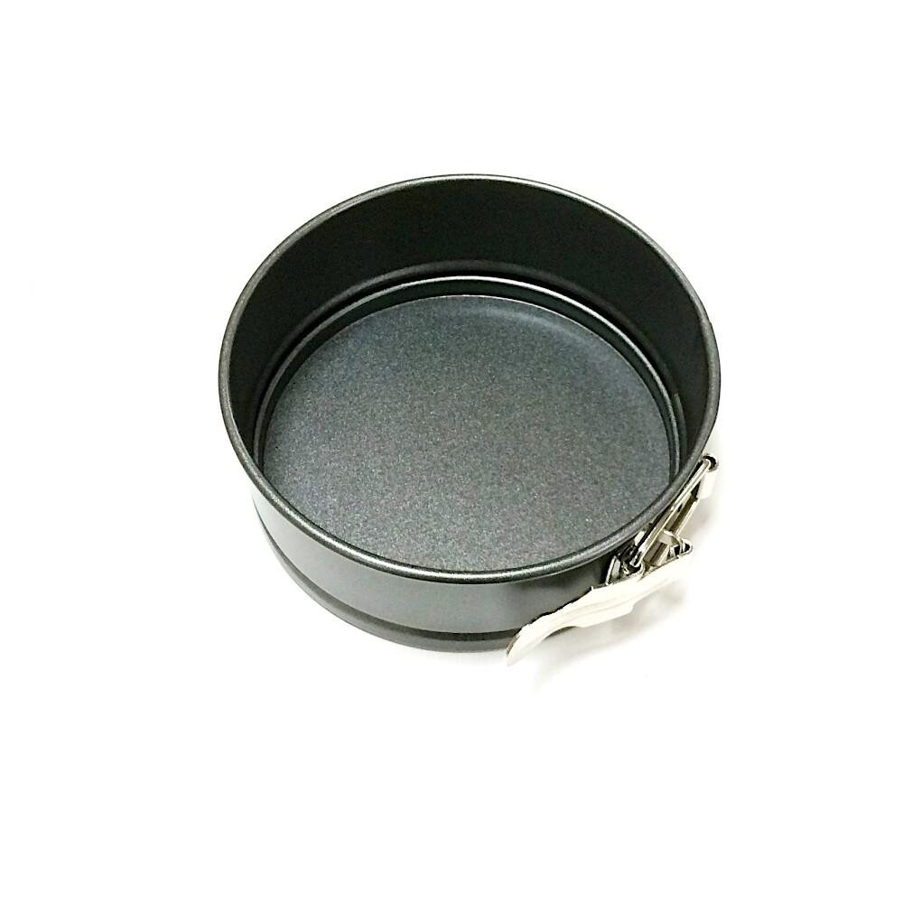 Форма для выпечки металлическая разъёмная антипригарная | мини Кольцо Ø 12 см