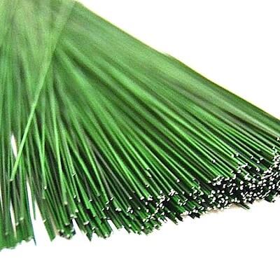 Проволока кондитерская с полимерным покрытием Зелёная | 20 шт