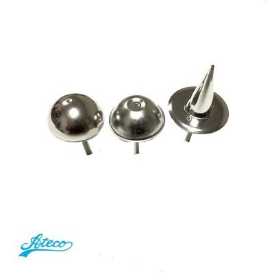 Кондитерские гвоздики Ateco №903, 906, 910   размер Ø 35, 40, 45 мм