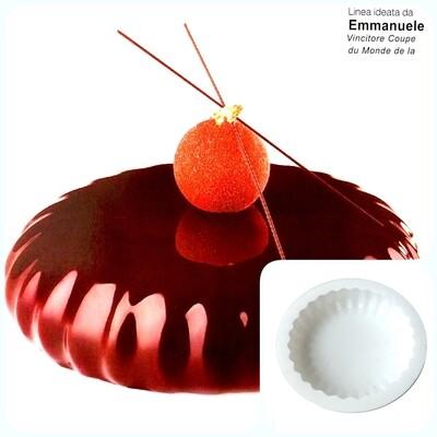 Силиконовая форма 3D для муссового торта | Плизе ∅180 мм