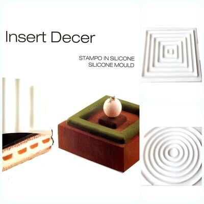 Силиконовая форма 3D для муссовых десертов и декора | Инсерт Декор 2 в 1