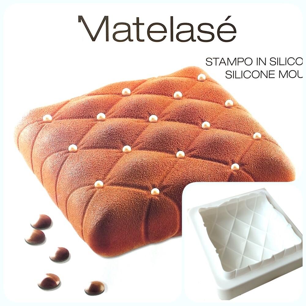 Силиконовая форма 3D для муссового торта | Мателас 145*145 мм