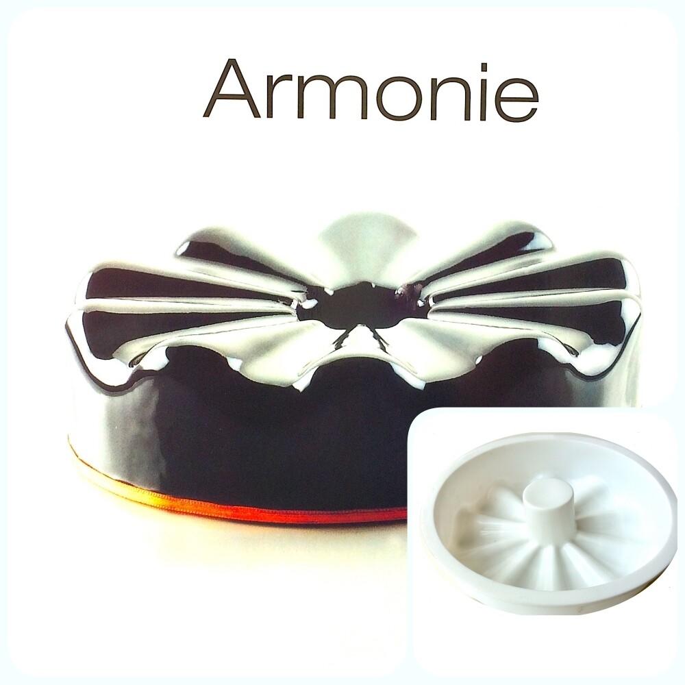 Силиконовая форма 3D для муссового торта   Армони ∅180 мм