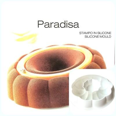 Силиконовая форма 3D для муссового торта | Парадис ∅210 мм