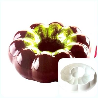 Силиконовая форма 3D для муссового торта | Магия ∅200 мм