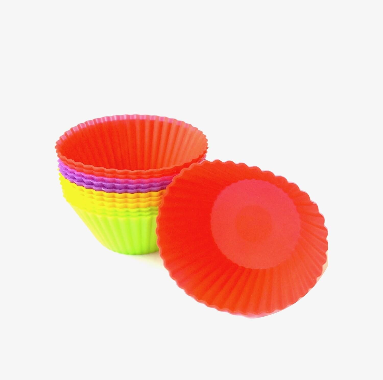 Форма для выпечки Капкейков силиконовая Ø 4.5 высота 3.5 см | набор 12 шт