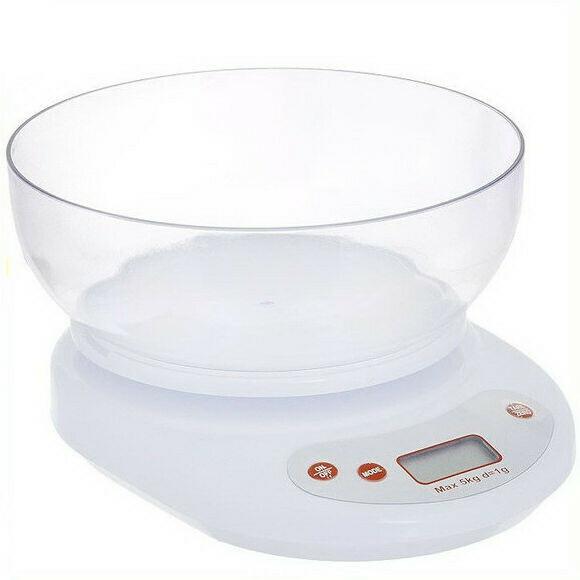 Кухонные весы на 5 кг (чашка)