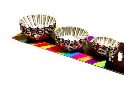 Форма для выпечки металлическая (тарталетки) | Микс набор 18 шт