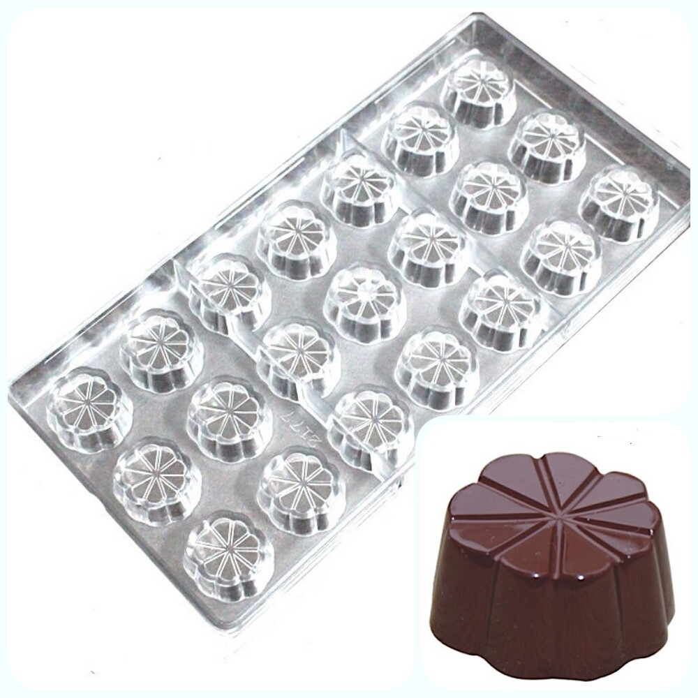Поликарбонатная форма для шоколада 275*135*24 мм   Торт мод.2177