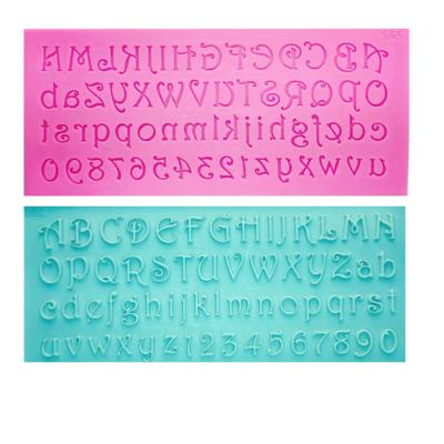 Молд силиконовый Алфавит Латинский | 3D