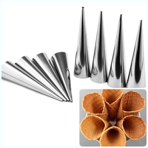 Трубочка (конус/высота 14 см) для выпечки | набор 8 шт