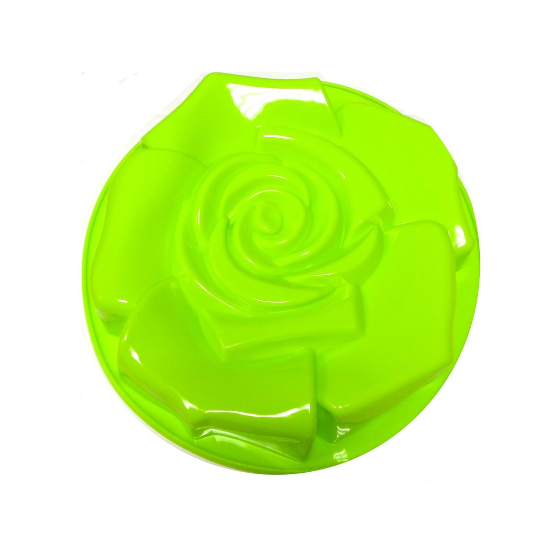 Силиконовая форма для выпечки тортов | Роза 260 мм