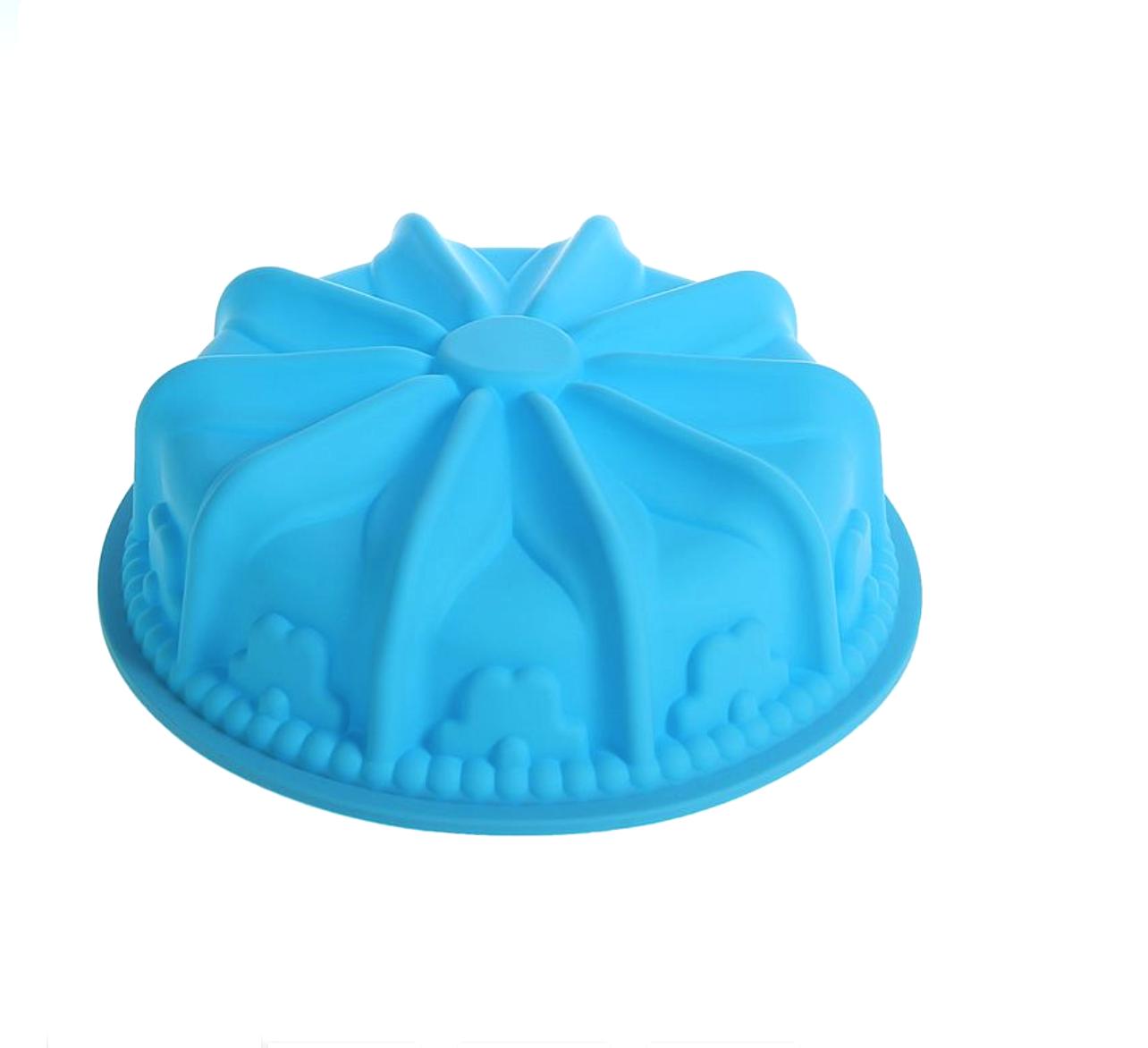 Силиконовая форма для выпечки тортов | Кекс 260 мм