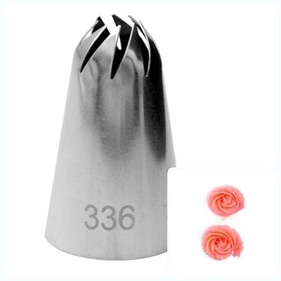 Кондитерская насадка 336 | 8 косых лучей