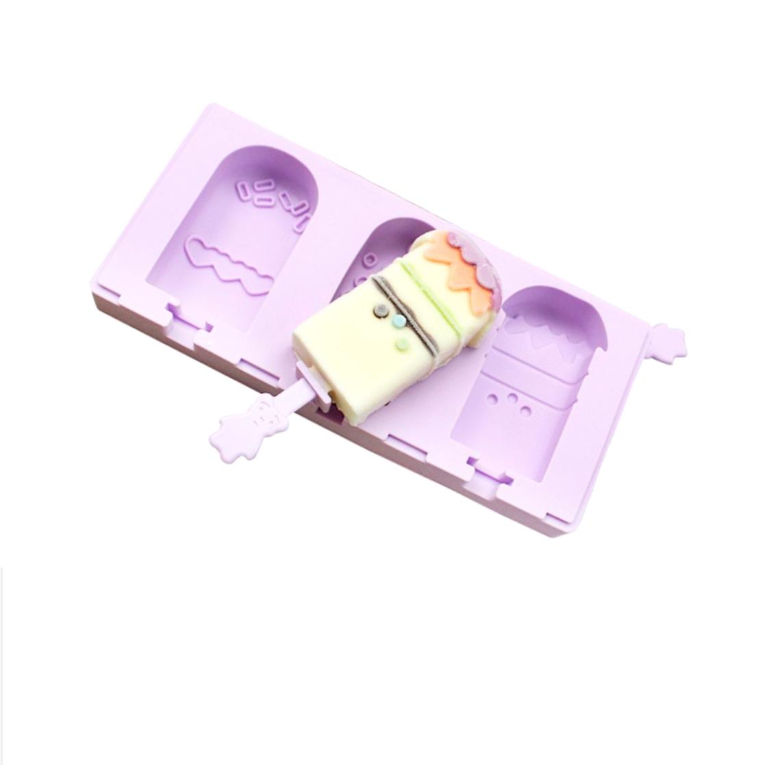 Силиконовая форма для мороженого 190*85*20 мм Эскимо (Popsicle)
