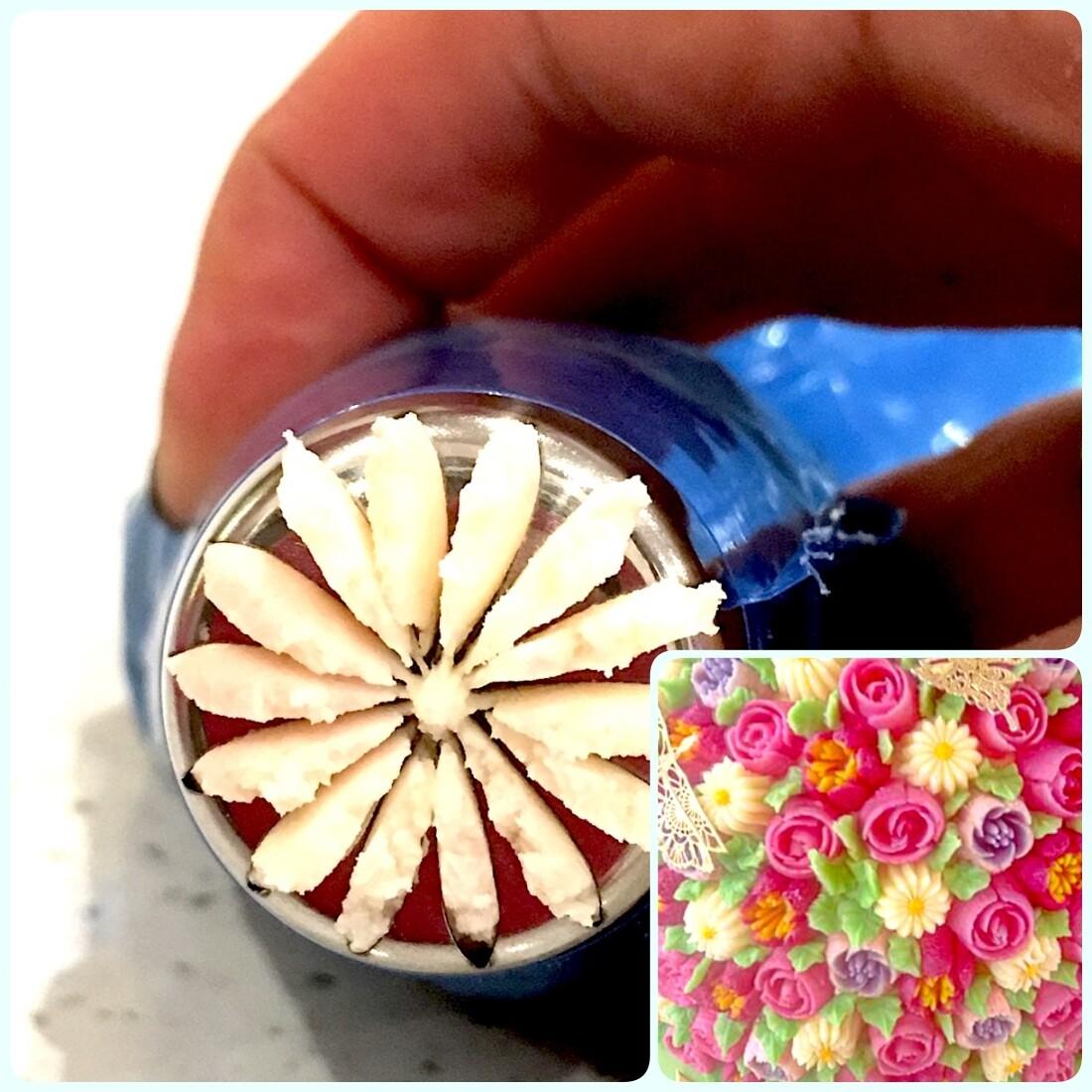 Насадка Цветок №113 Дейзи | L размер (Russian Flower Nozzle #20.1 Daisy | L size)