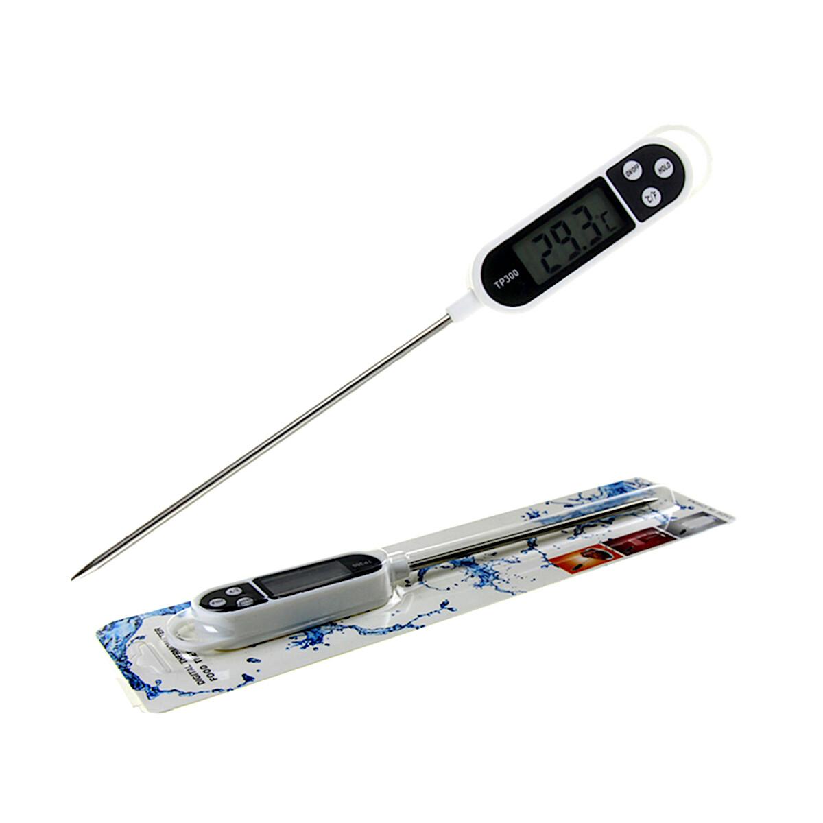 Кондитерский термометр цифровой (°C/F) от -50°C до +250°C TD300 | щуп 145 мм
