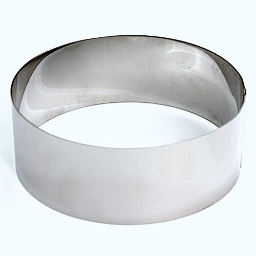 Формы для выпечки нерж.сталь | Кольца (высота 8 см, Ø 12-30 см)