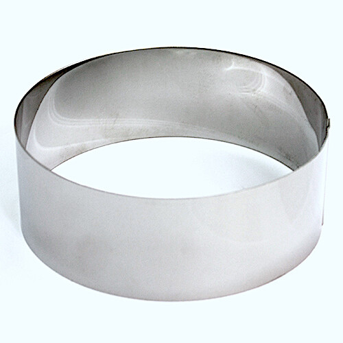 Формы для выпечки нерж.сталь | Кольца (высота 12 см, Ø 12-30 см)
