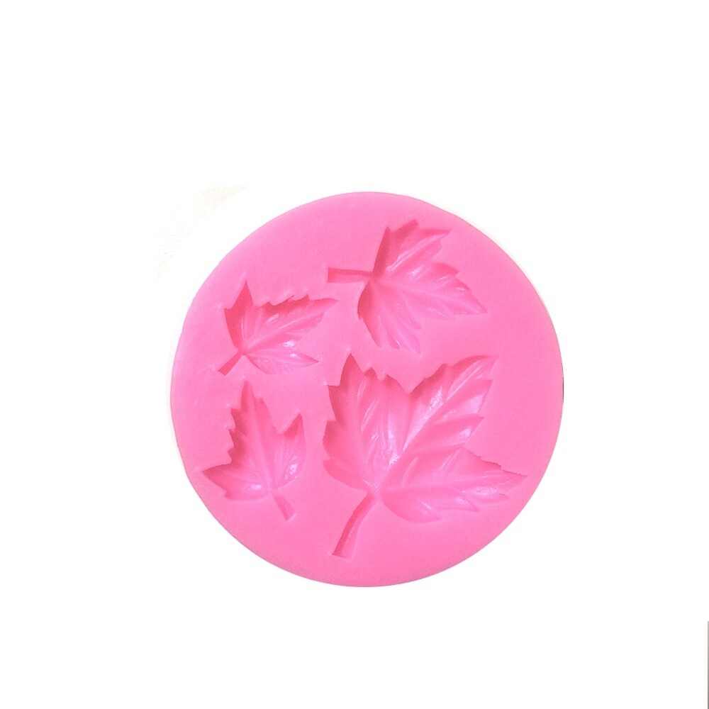 Молд силиконовый (вайнер) Листья Клёна (мини)