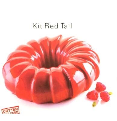 Силиконовая форма 3D для муссового торта | Ред Теил ∅240 мм