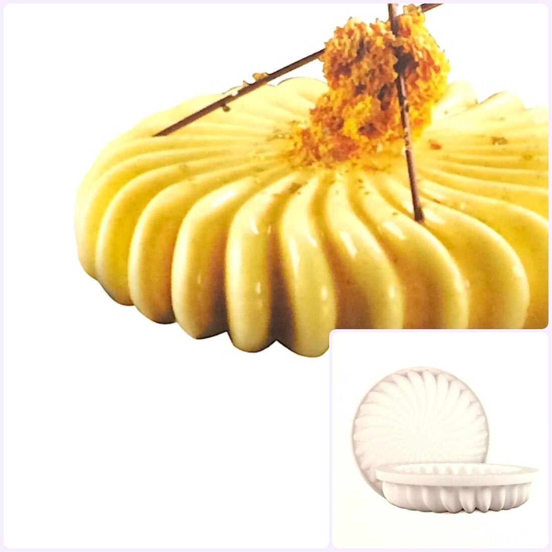 Силиконовая форма 3D для муссового торта | Флип ∅180 мм