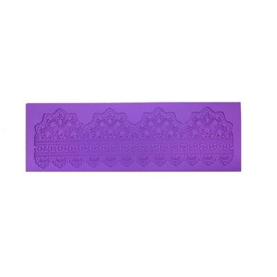 Текстурный коврик для декора выпечки размер 40*15 см | модель 1060