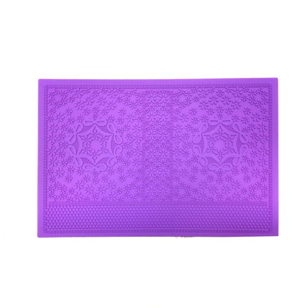 Текстурный коврик для декора выпечки размер 35*25 см | модель 1065