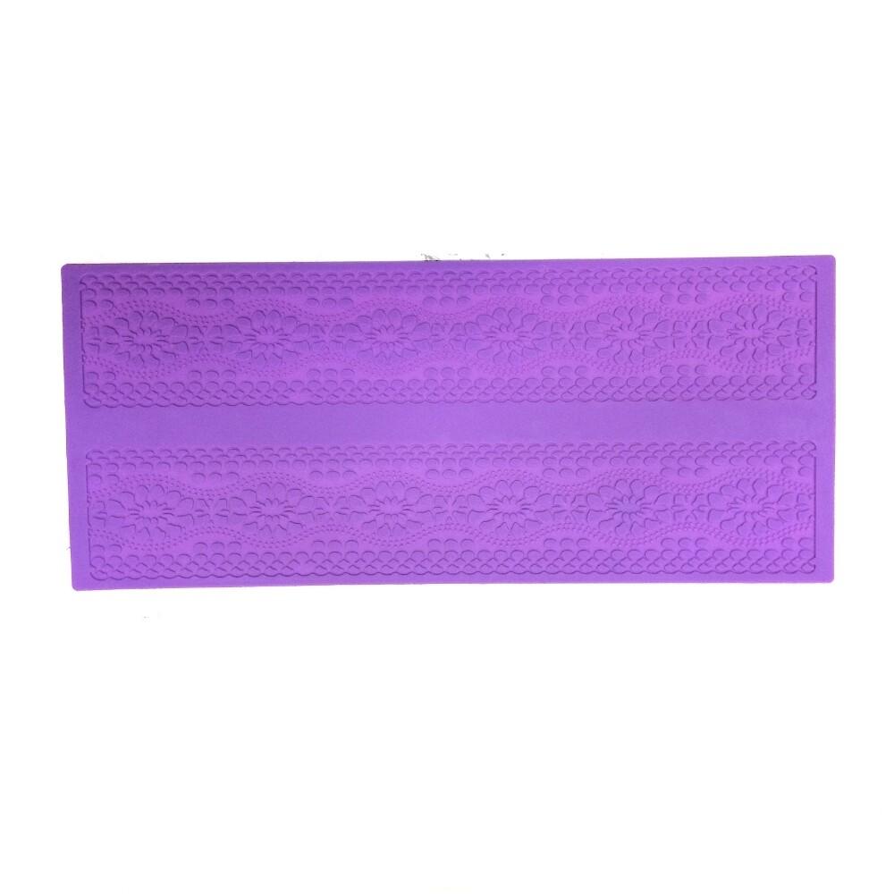 Текстурный коврик для декора выпечки размер 40*15 см | модель 1064