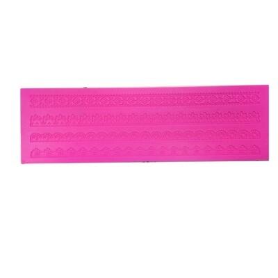 Текстурный коврик для декора выпечки размер 40*10 см | модель 1061