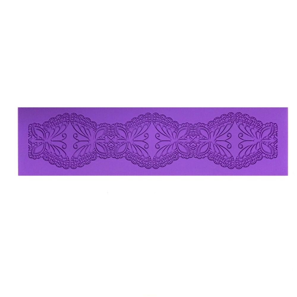 Текстурный коврик для декора выпечки размер 40*10 см | модель 1062