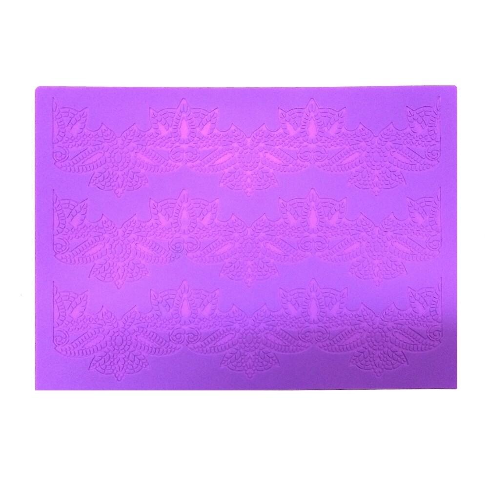 Текстурный коврик для декора выпечки размер 40*30 см | модель 1066-3