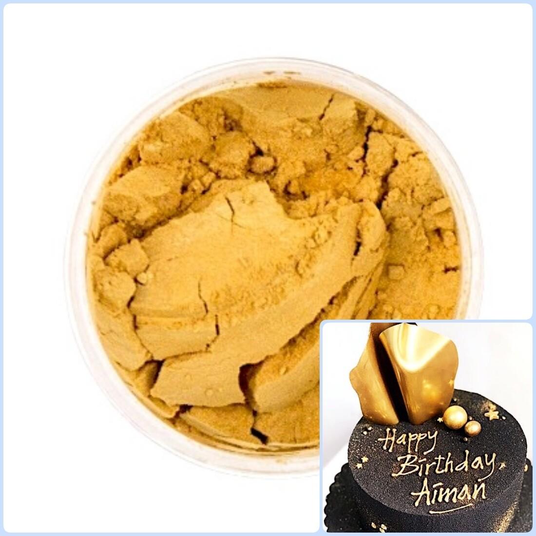 Краситель сухой Золотой блеск 5 гр. | Candurin®