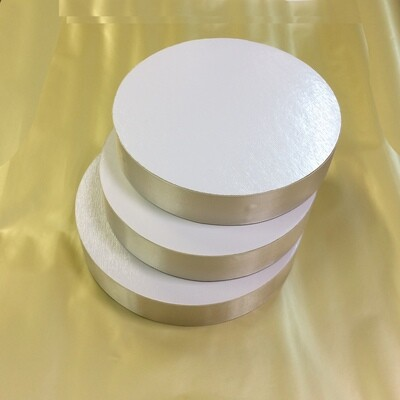 Поднос под торт двух-сторон. толщина 50 мм | Ø 22-30 см Piccardy™ (АтЛ)