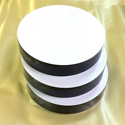 Поднос под торт двух-сторон. толщина 50 мм | Ø 22-30 см Piccardy™ (ЧрЛ)
