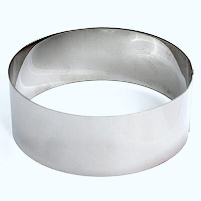 Формы для выпечки нерж.сталь | Кольца (высота 6 см, Ø 12-30 см)