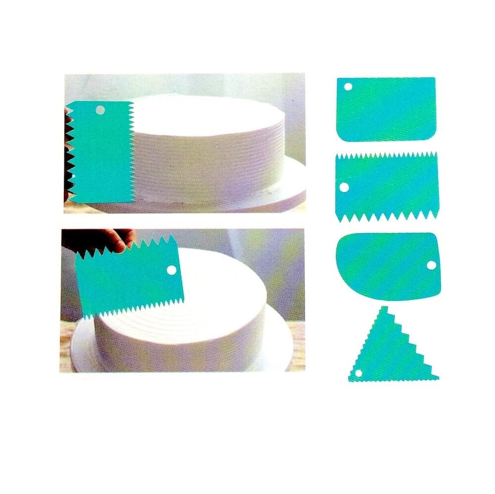 Кондитерские скребки | набор 3+1 шт (Акция)