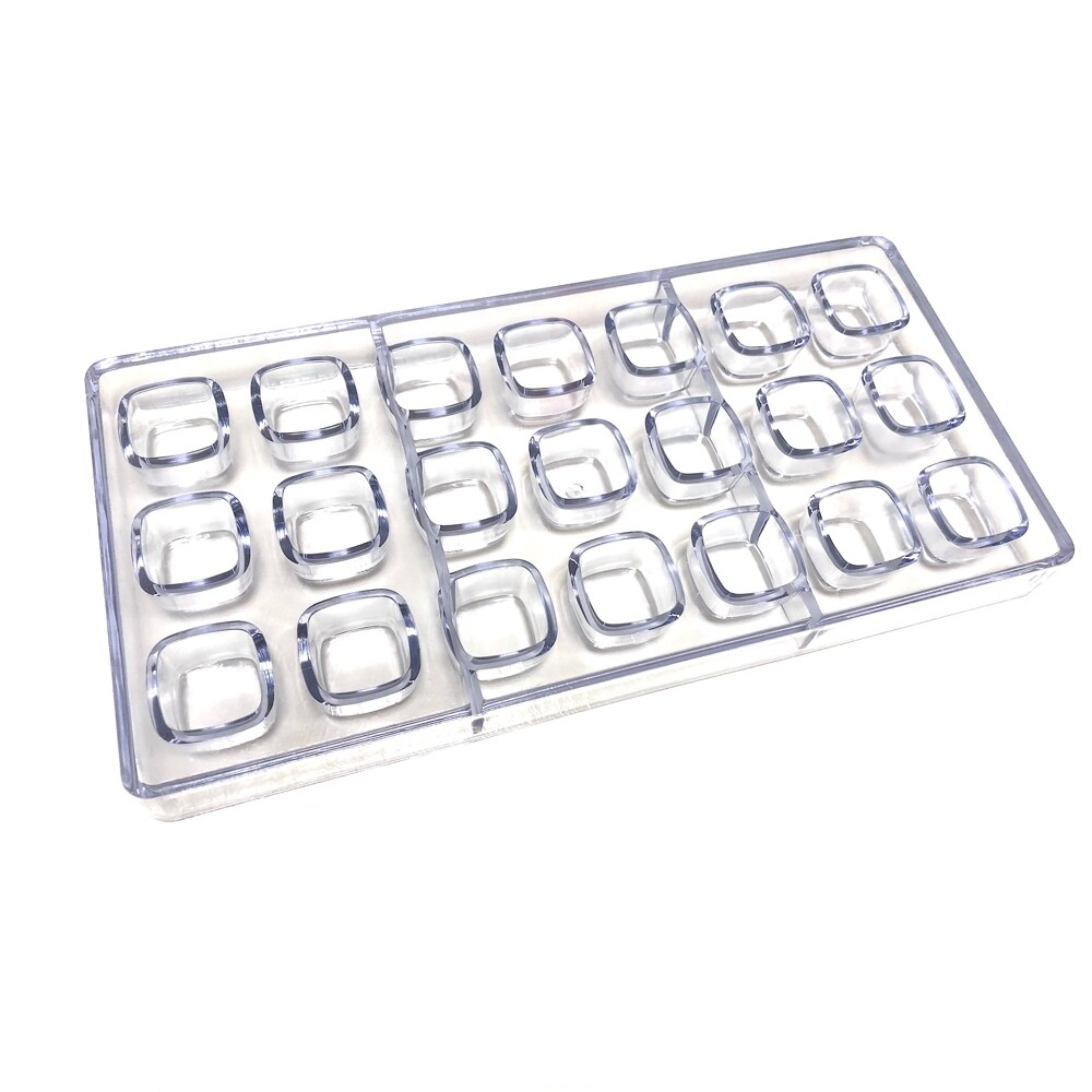 Поликарбонатная форма для шоколада 275*135*24 мм | Купол прям (эконом)