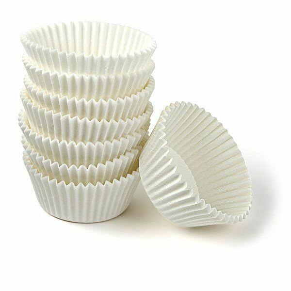 Бумажная форма для выпечки капкейков Ø низ 5 см, высота 3 см | 1 000 шт