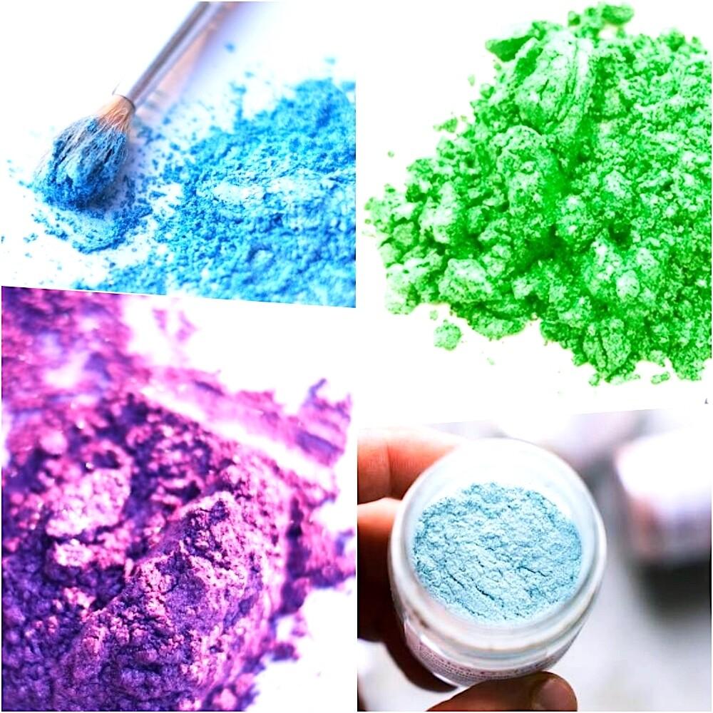 Краситель сухой Цветной блеск-пудра 5 гр. | Орнамент