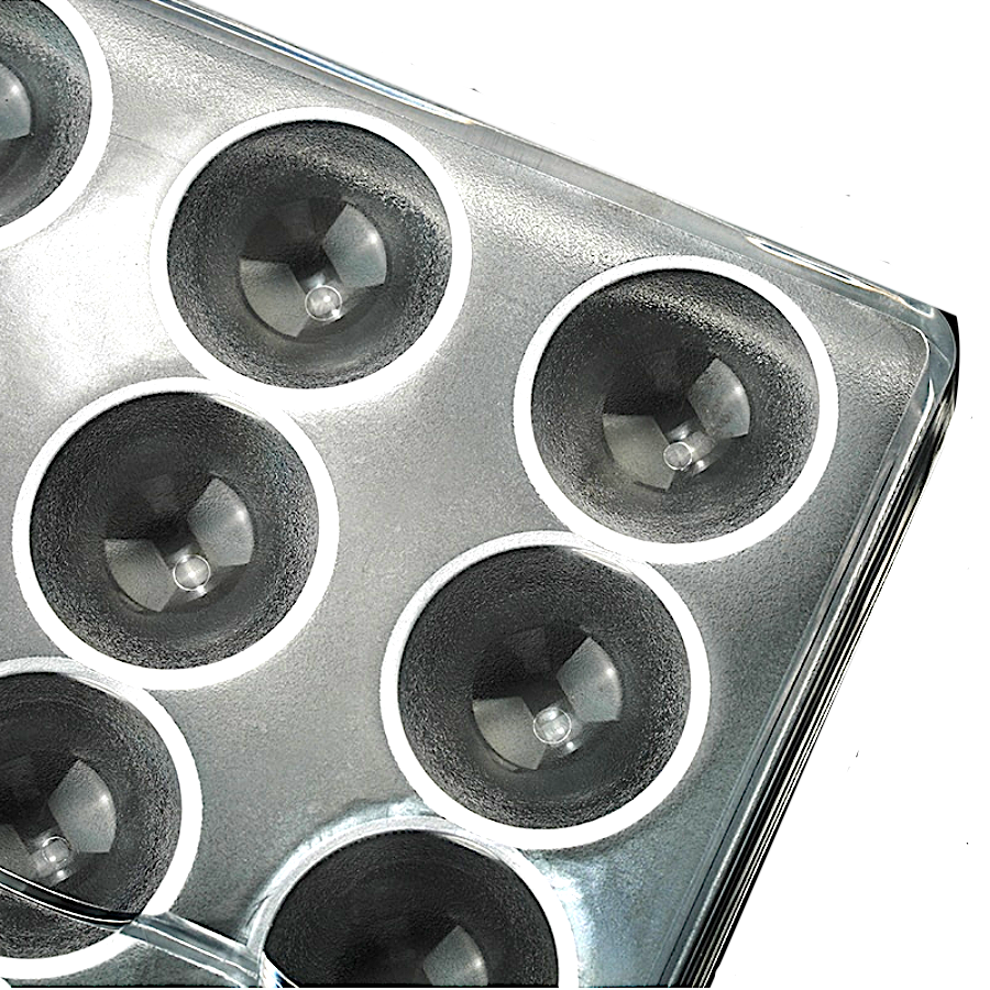 Поликарбонатная форма для шоколада 275*135*24 мм | полуСфера мод.В9980 (эконом)