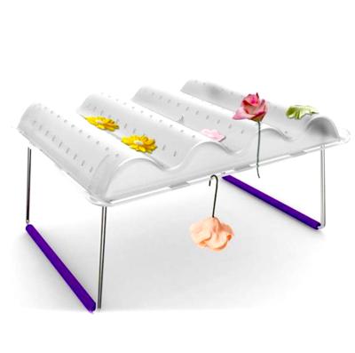 Столик для сушки цветов из сахарной мастики (2)