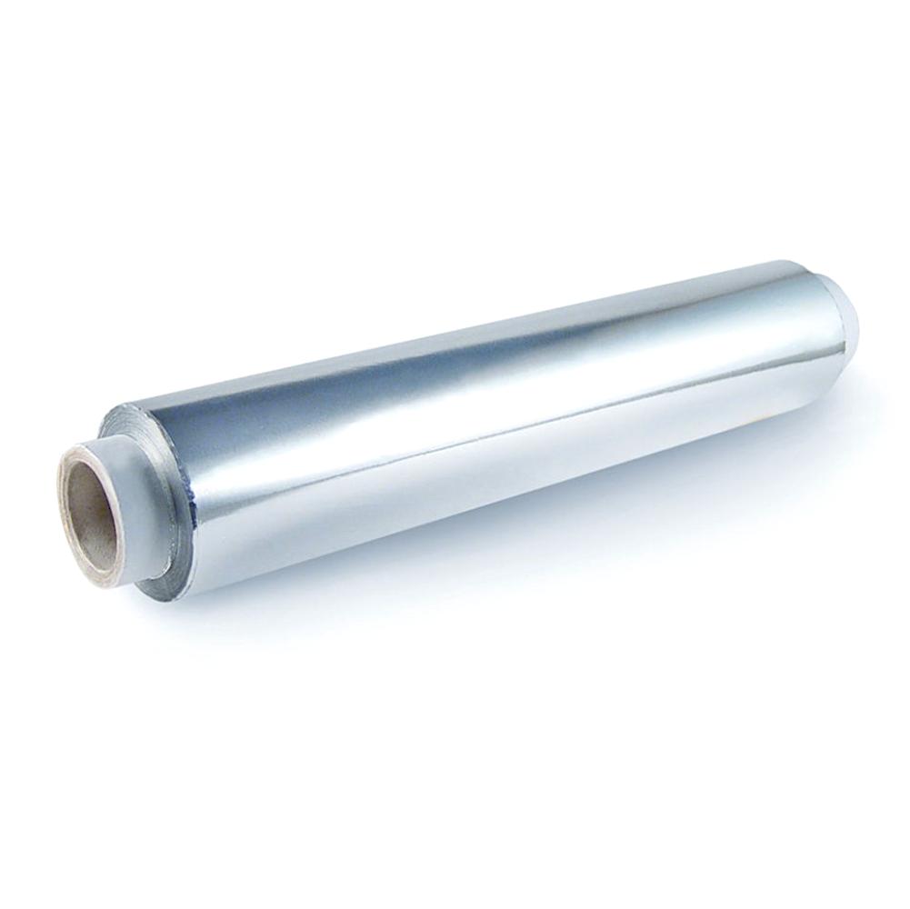 Фольга алюминиевая в рулоне, ширина 30 см, длина 50 м, толщина 14 мкр