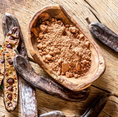 Кэроб порошок натуральный обжаренный 0.1 - 1 кг (замена какао, без кофеина)
