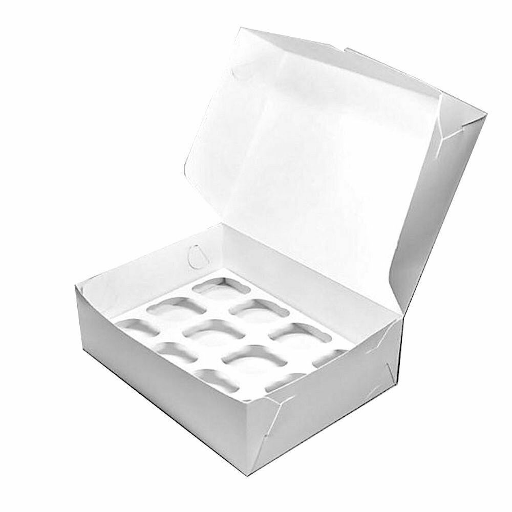 Коробка для 12 капкейков 33*25*10 cм