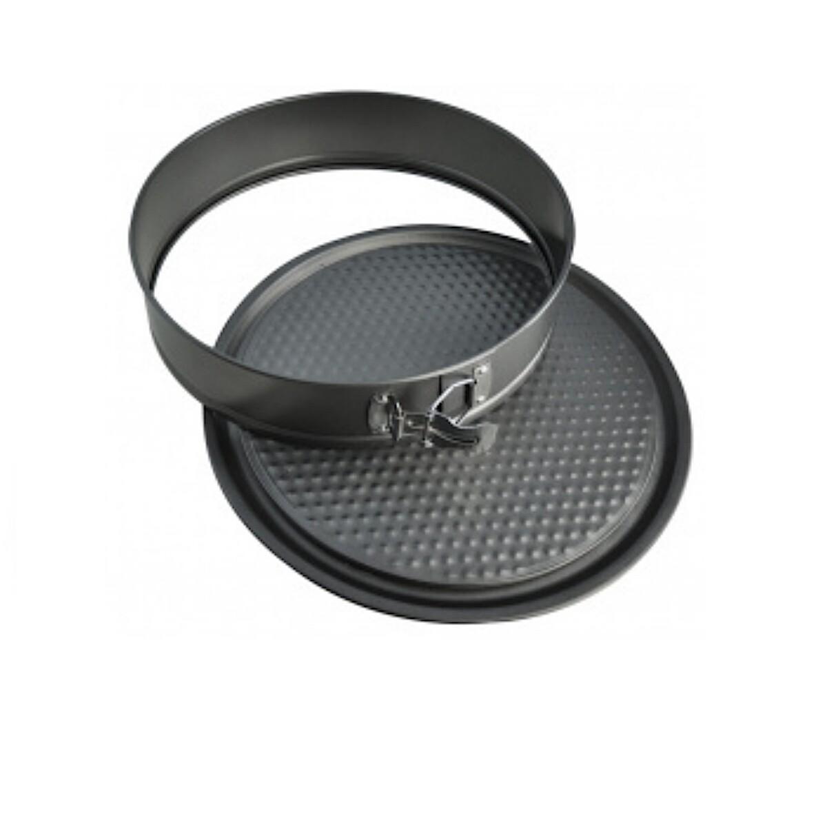 Форма для выпечки металлическая разъёмная антипригарная | Тарт набор 3 шт: Ø 24, 26, 28 см | H 4 см
