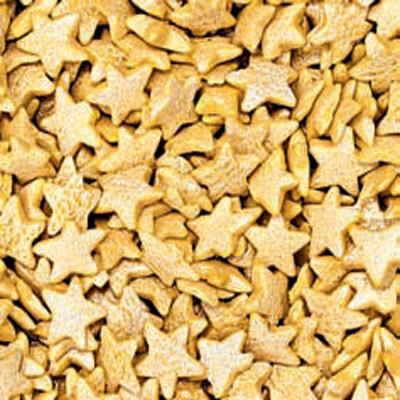 Декоративные кондитерские посыпки Блестящие | Звёздочки Перламутр 0.75 кг