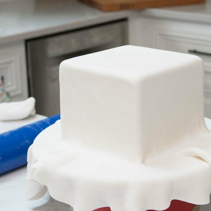 Сахарная Мастика Белая 1 кг | для обтяжки, лепки, универсальная (Премиум)
